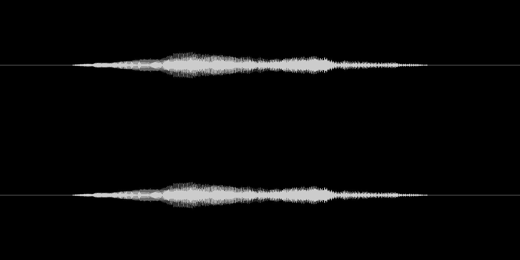 ニャー_猫声-09の未再生の波形