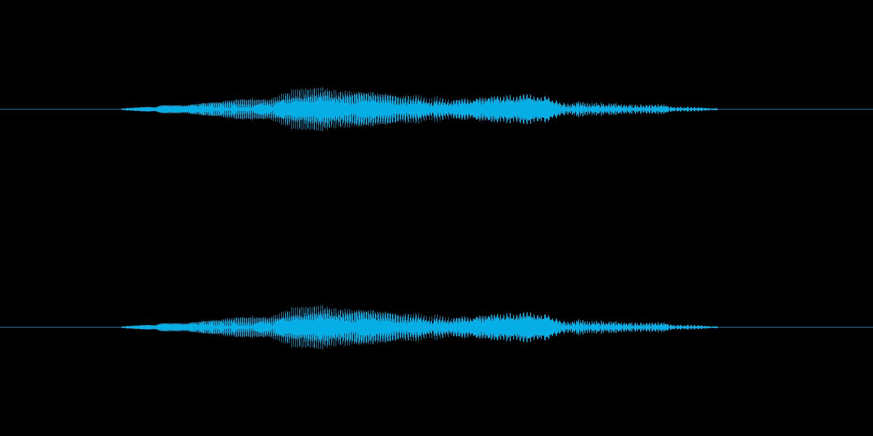 ニャー_猫声-09の再生済みの波形