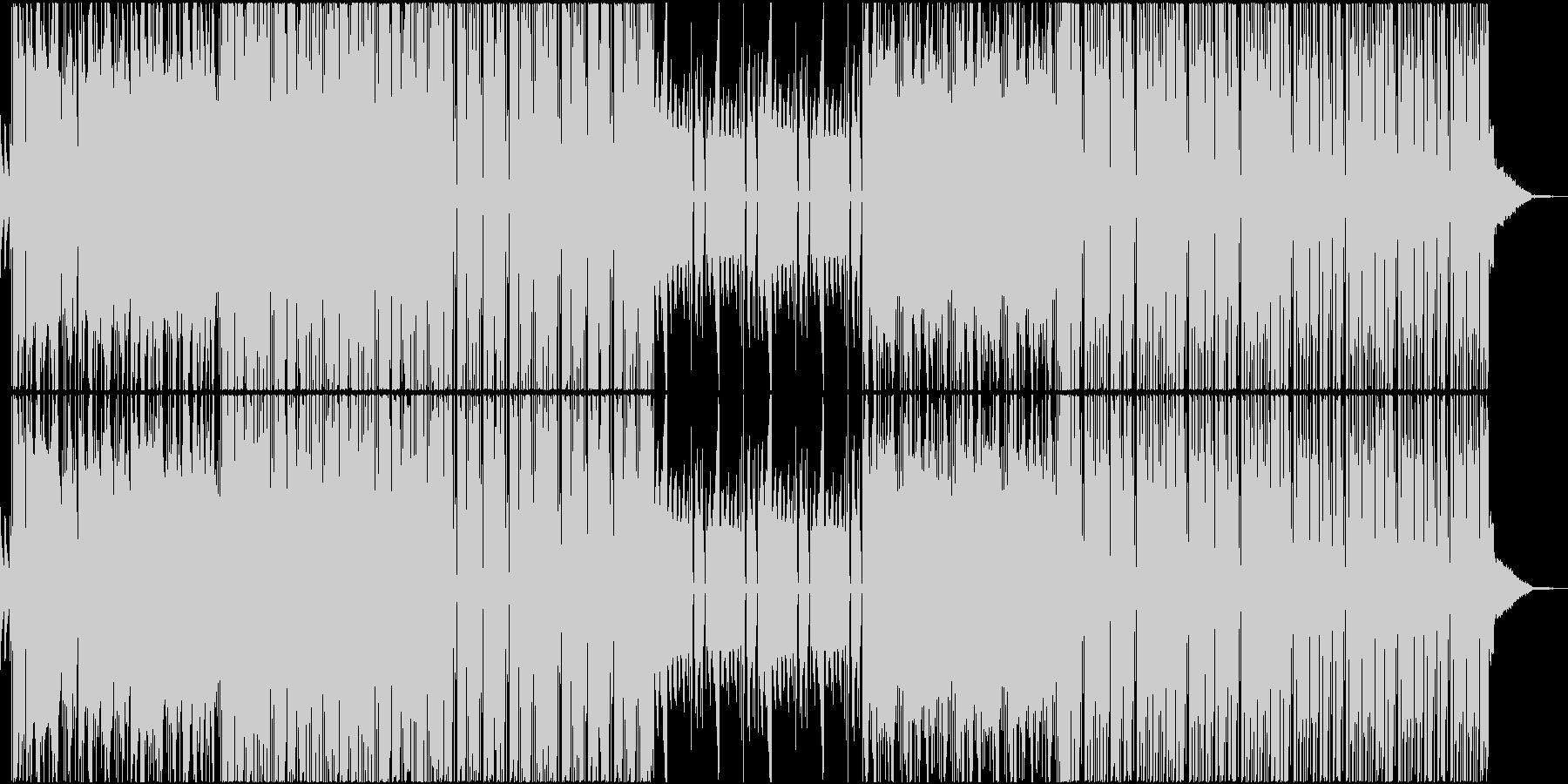 TRAP EDM ダンス HIPHOPの未再生の波形