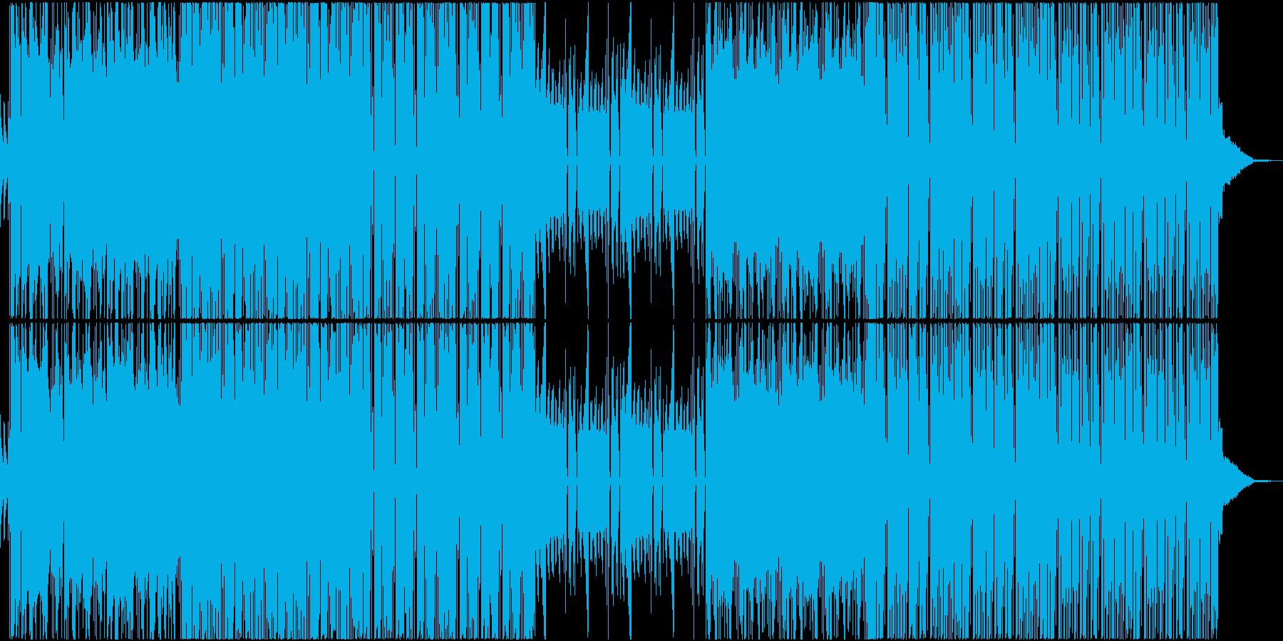 TRAP EDM ダンス HIPHOPの再生済みの波形