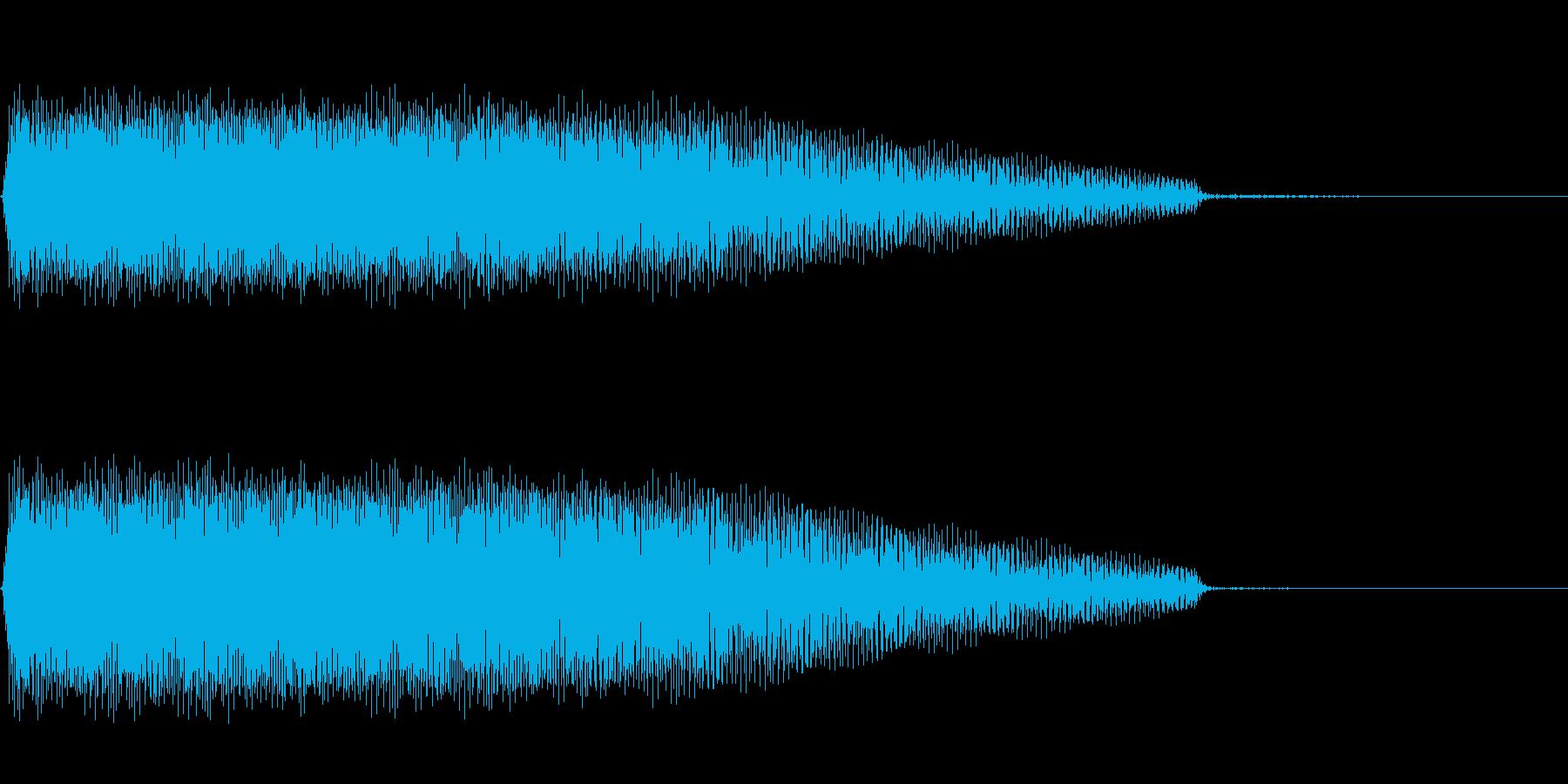 AnimeFX ロボットの動作音 単発の再生済みの波形