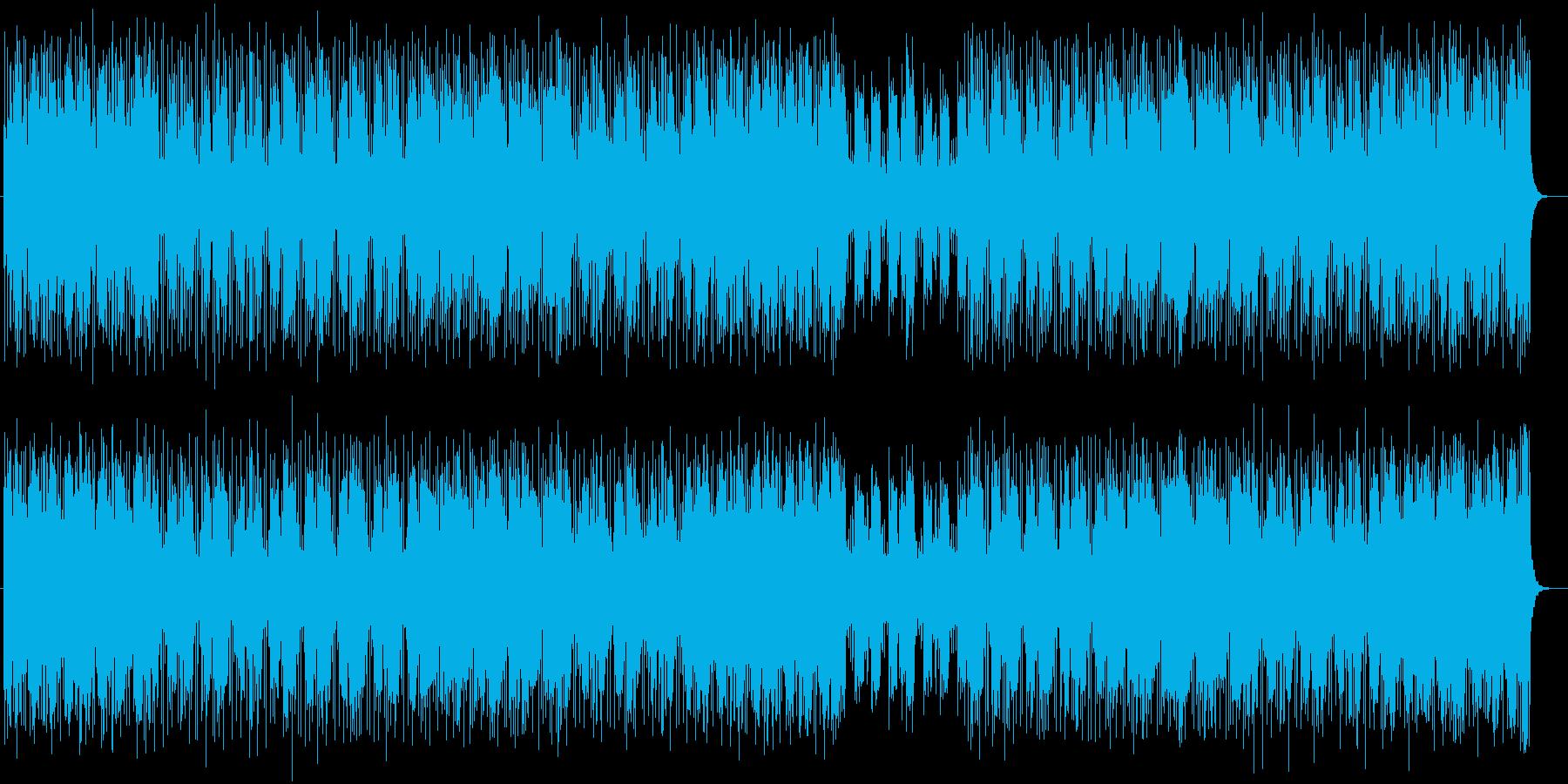 爽やかなテクノポップスの再生済みの波形