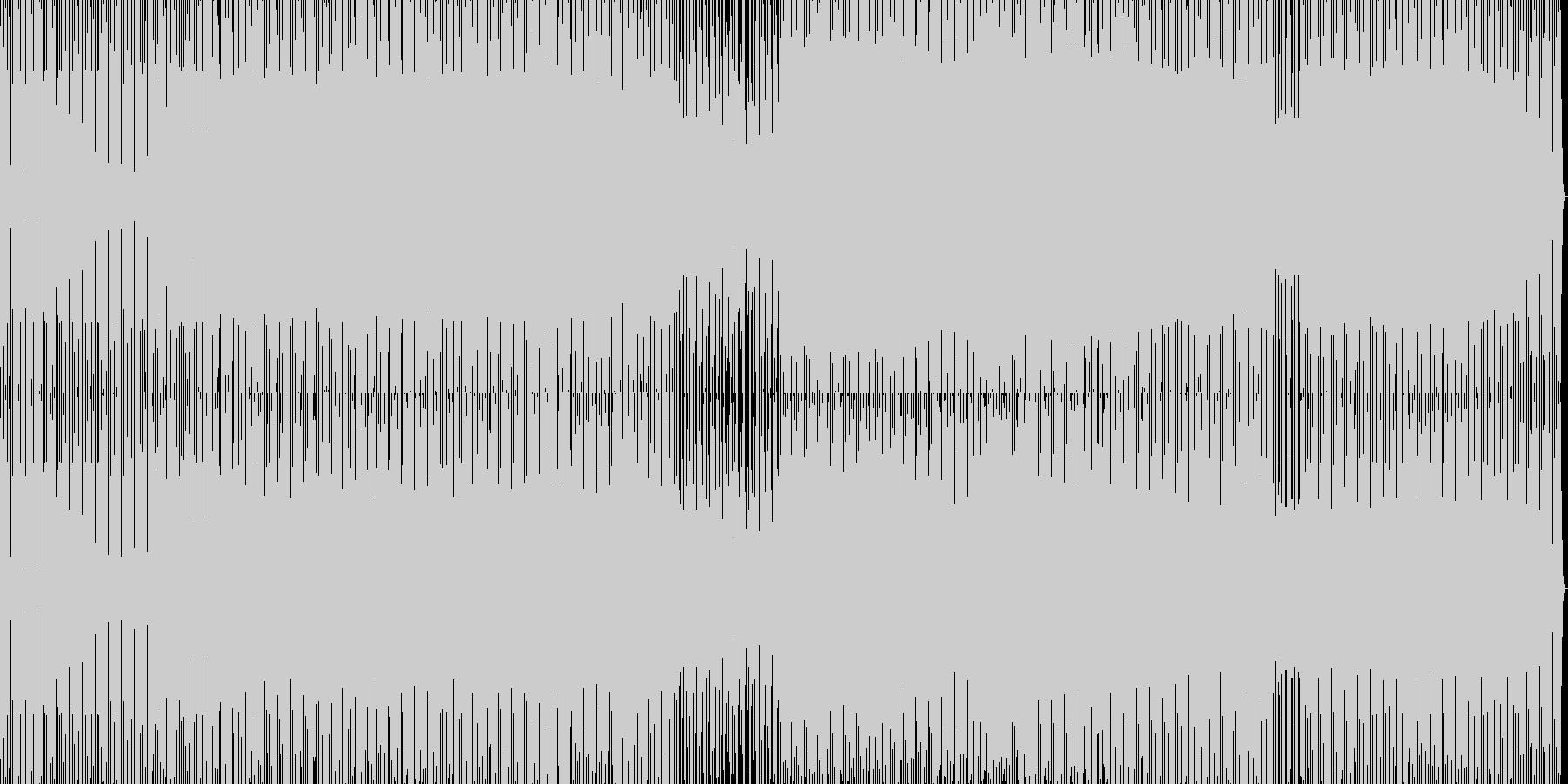 minimal house 23の未再生の波形