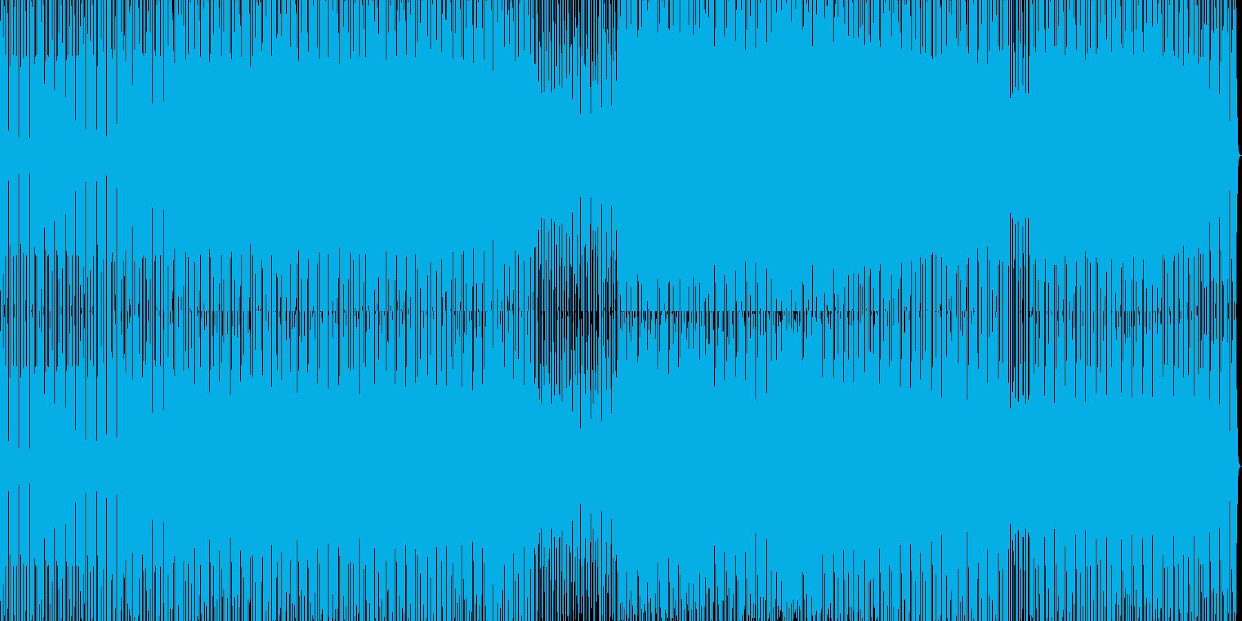 minimal house 23の再生済みの波形