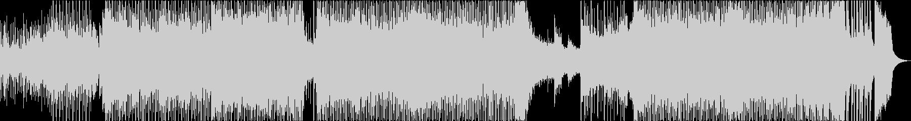 和楽器EDMの未再生の波形