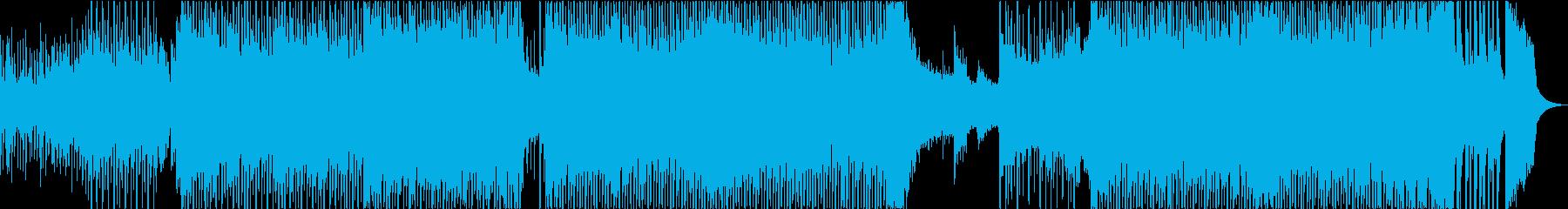 和楽器EDMの再生済みの波形
