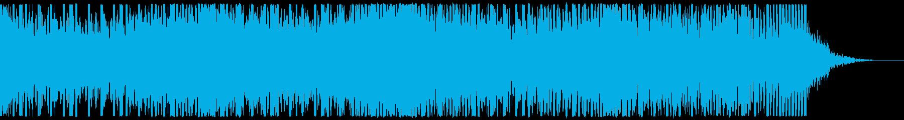 EDM、サイバー系ゲーム等、ショート①の再生済みの波形