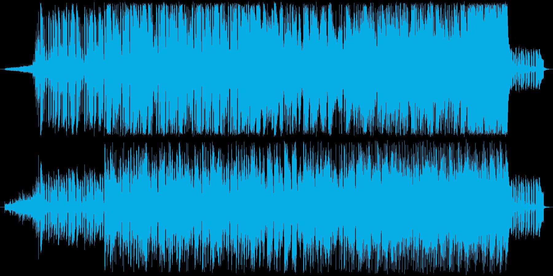 80'sのメロウ感のあるサンバリズムの曲の再生済みの波形