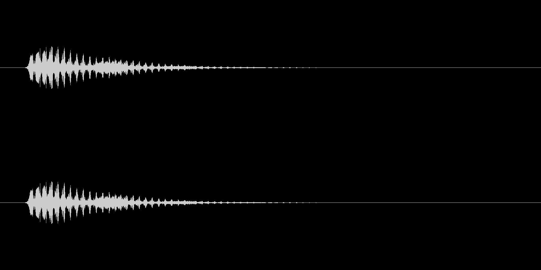 【ショートブリッジ12-2】の未再生の波形