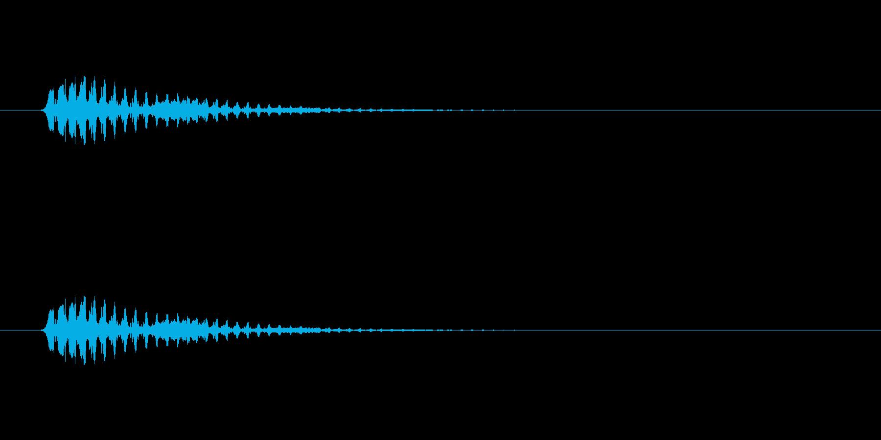 【ショートブリッジ12-2】の再生済みの波形