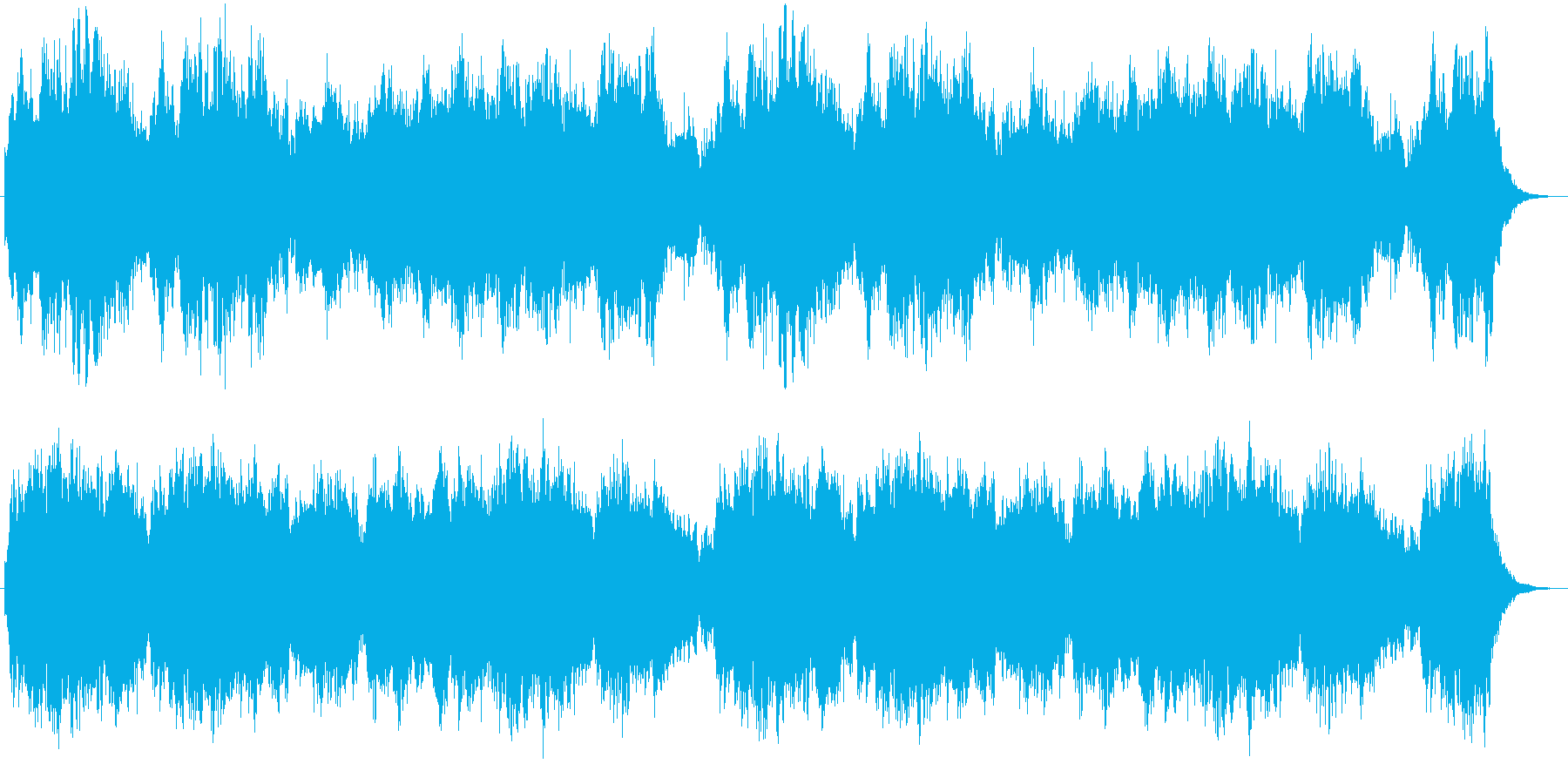 イングリッシュホルンと弦の優美な曲の再生済みの波形