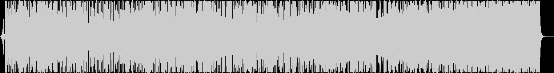 レトロな雰囲気のバブリーなディスコの未再生の波形