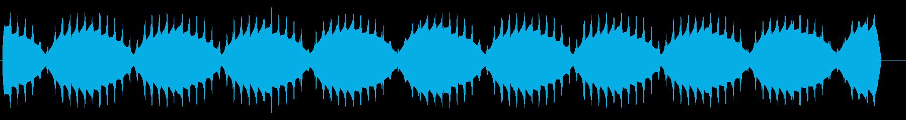 ボワーン(揺らぐ高音のワープエンジン)の再生済みの波形