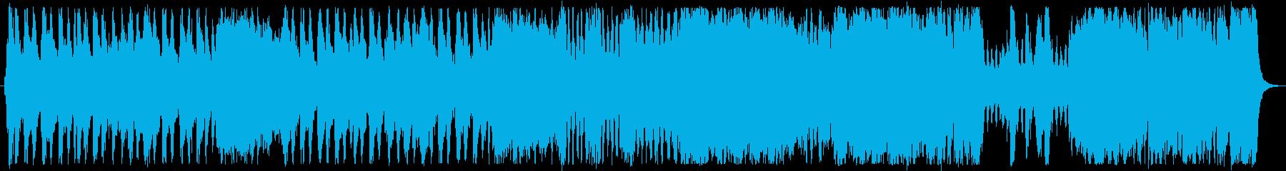オーケストラのゲーム音楽風。戦闘シーン。の再生済みの波形