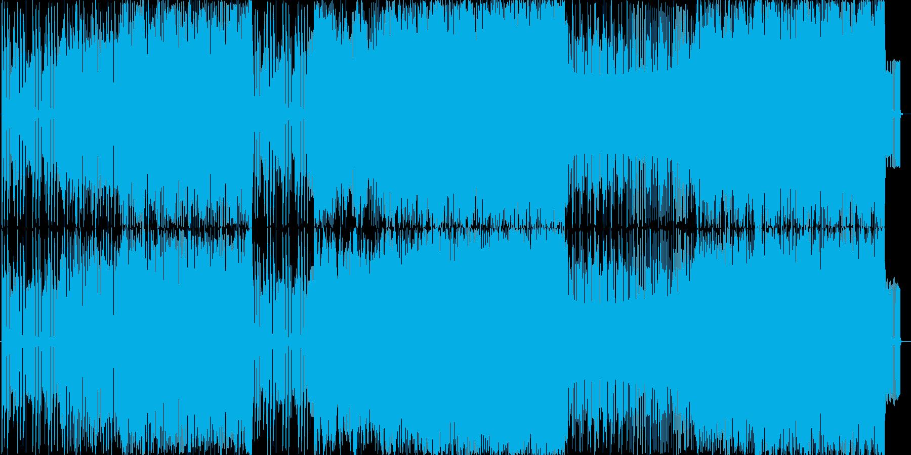 挑戦を挑まれた時の曲の再生済みの波形