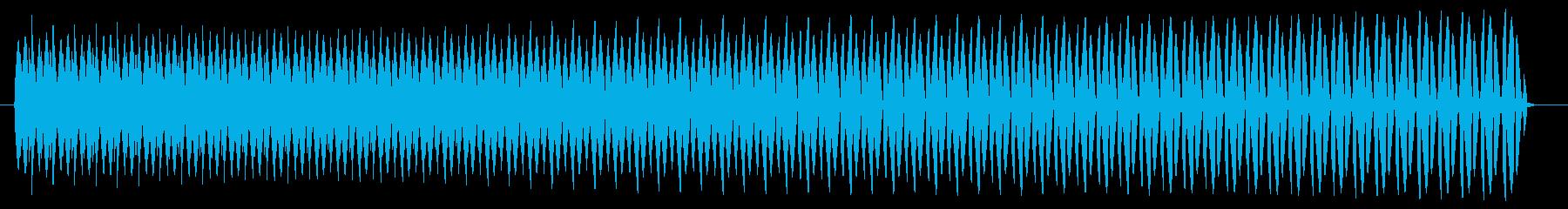 ヴョォー。クイズ不正解・ブザー音の再生済みの波形