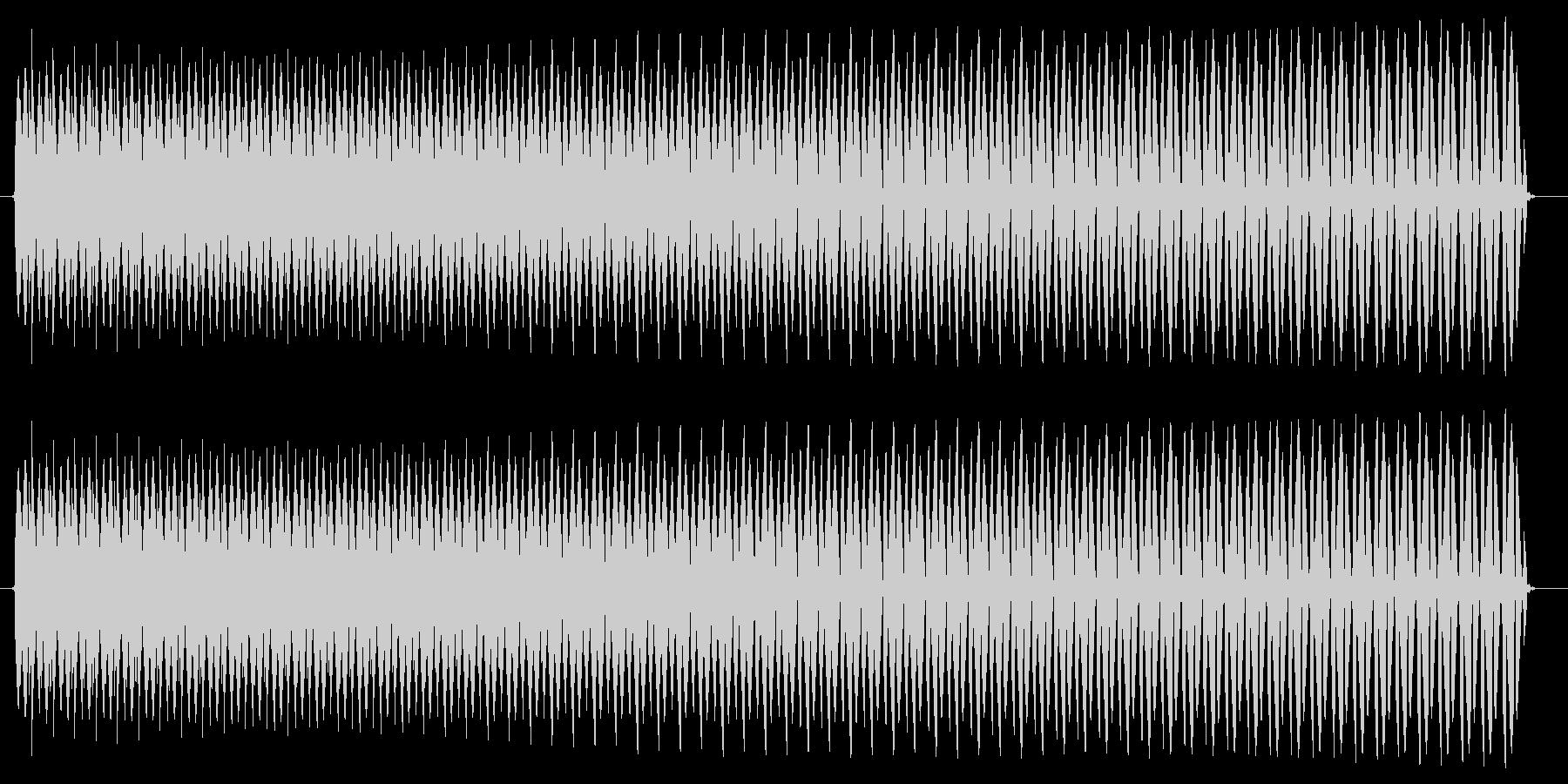 ヴョォー。クイズ不正解・ブザー音の未再生の波形