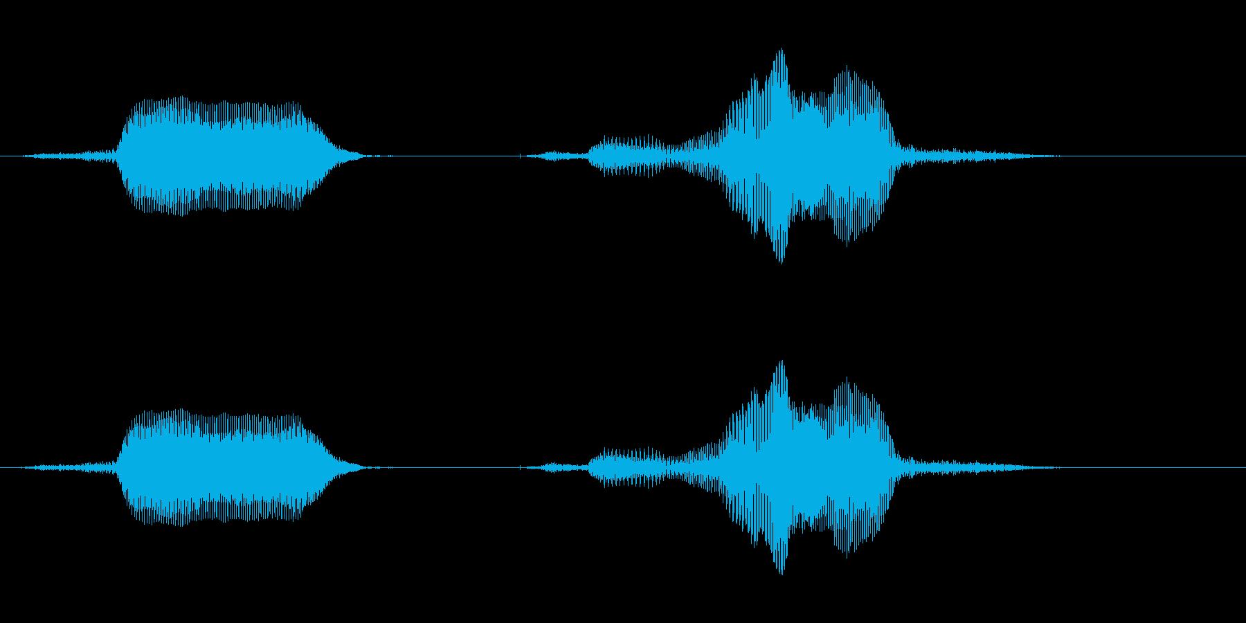 スイッチオフ!の再生済みの波形