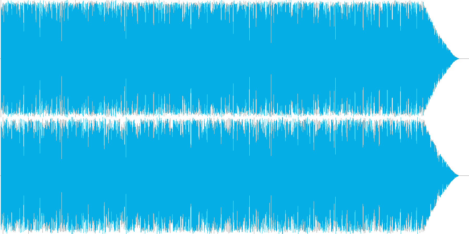 8bitチックなアクションゲームなどにの再生済みの波形