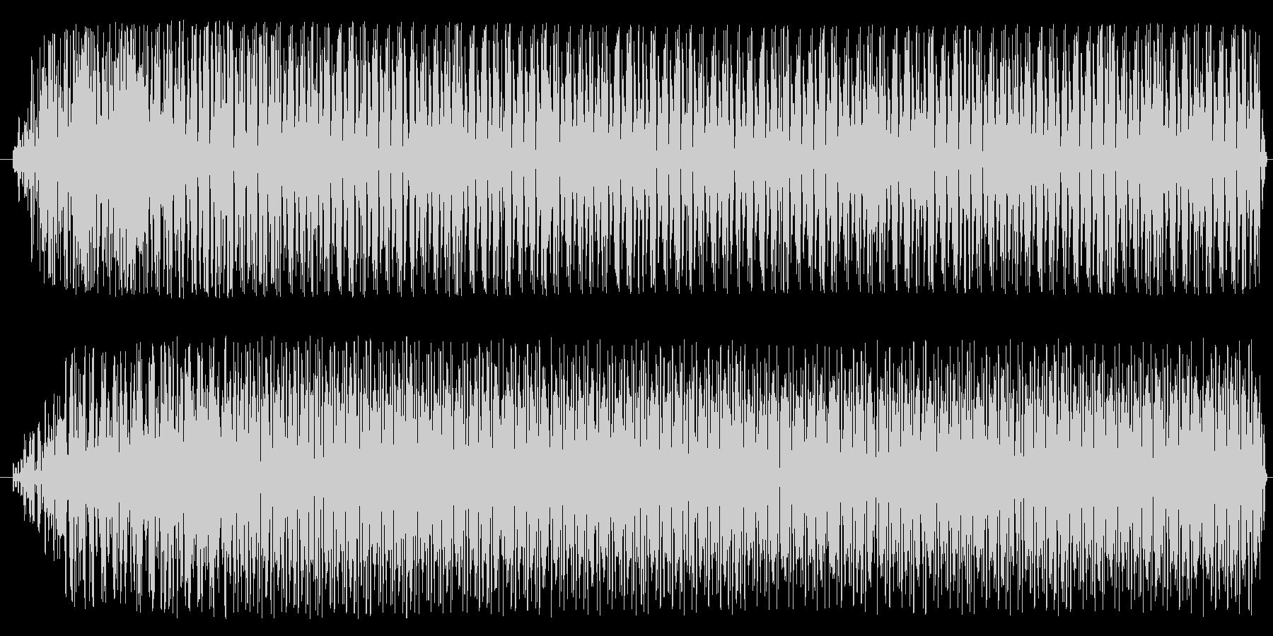 機械、モーター音(低音・一定・ノイズ音)の未再生の波形