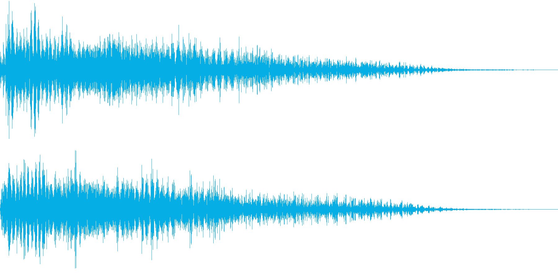 InvaderBuzz 発砲音 10の再生済みの波形
