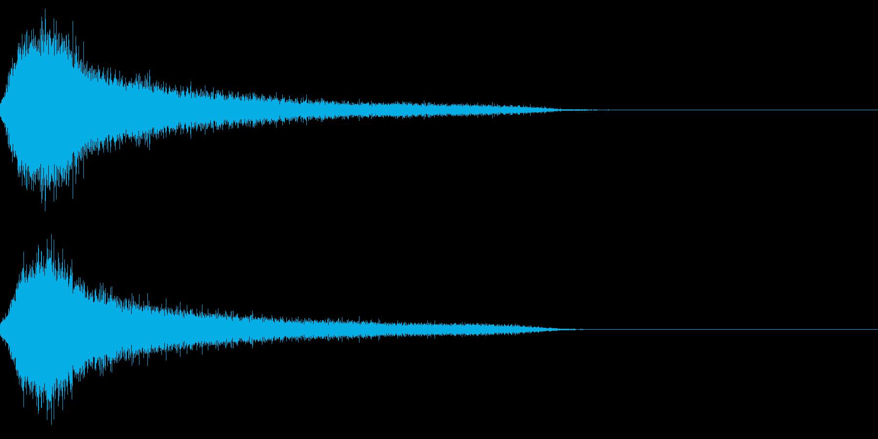 ホラー4(幽霊が現れる音)の再生済みの波形