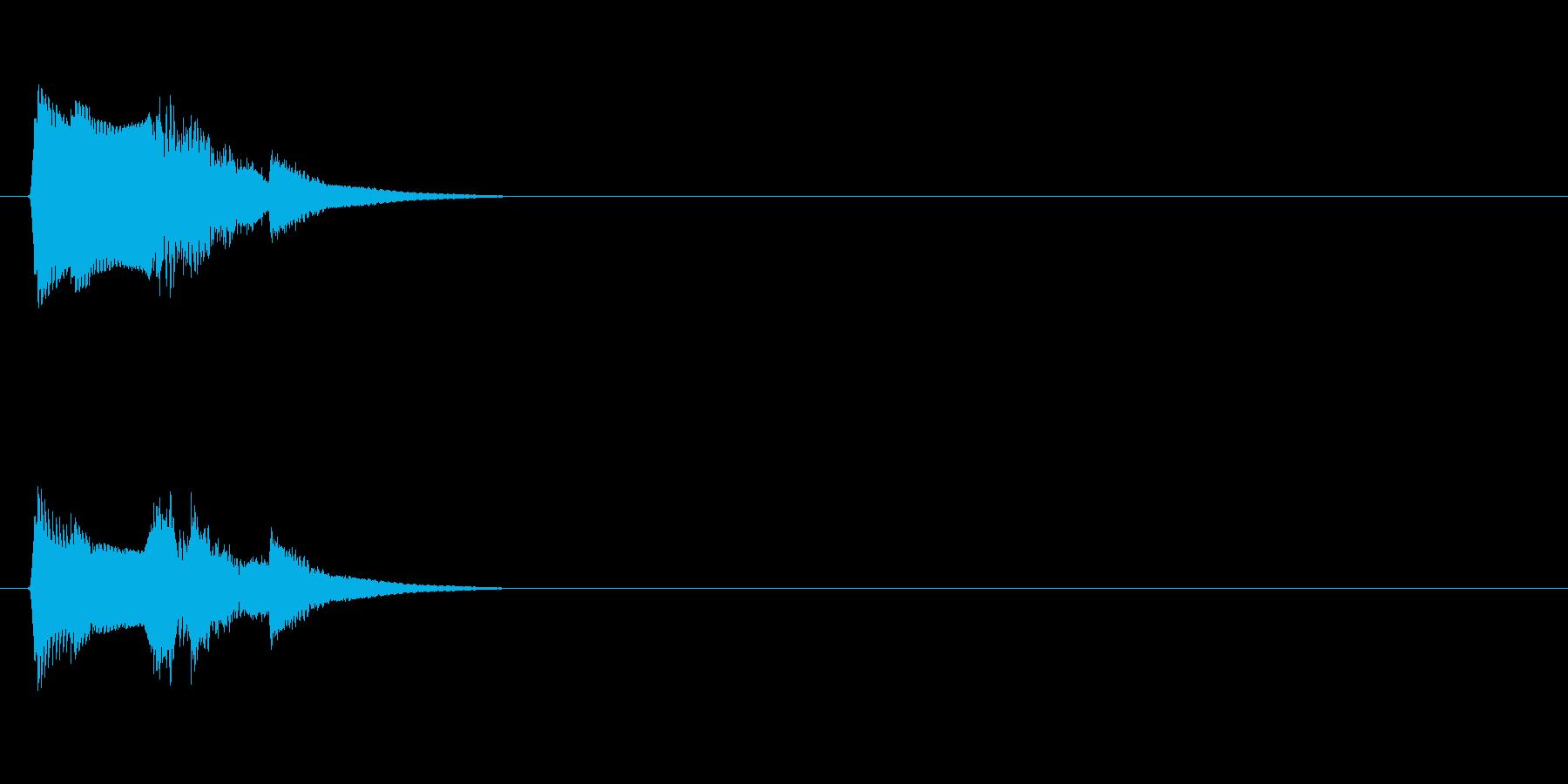 【ポップモーション01-1】の再生済みの波形