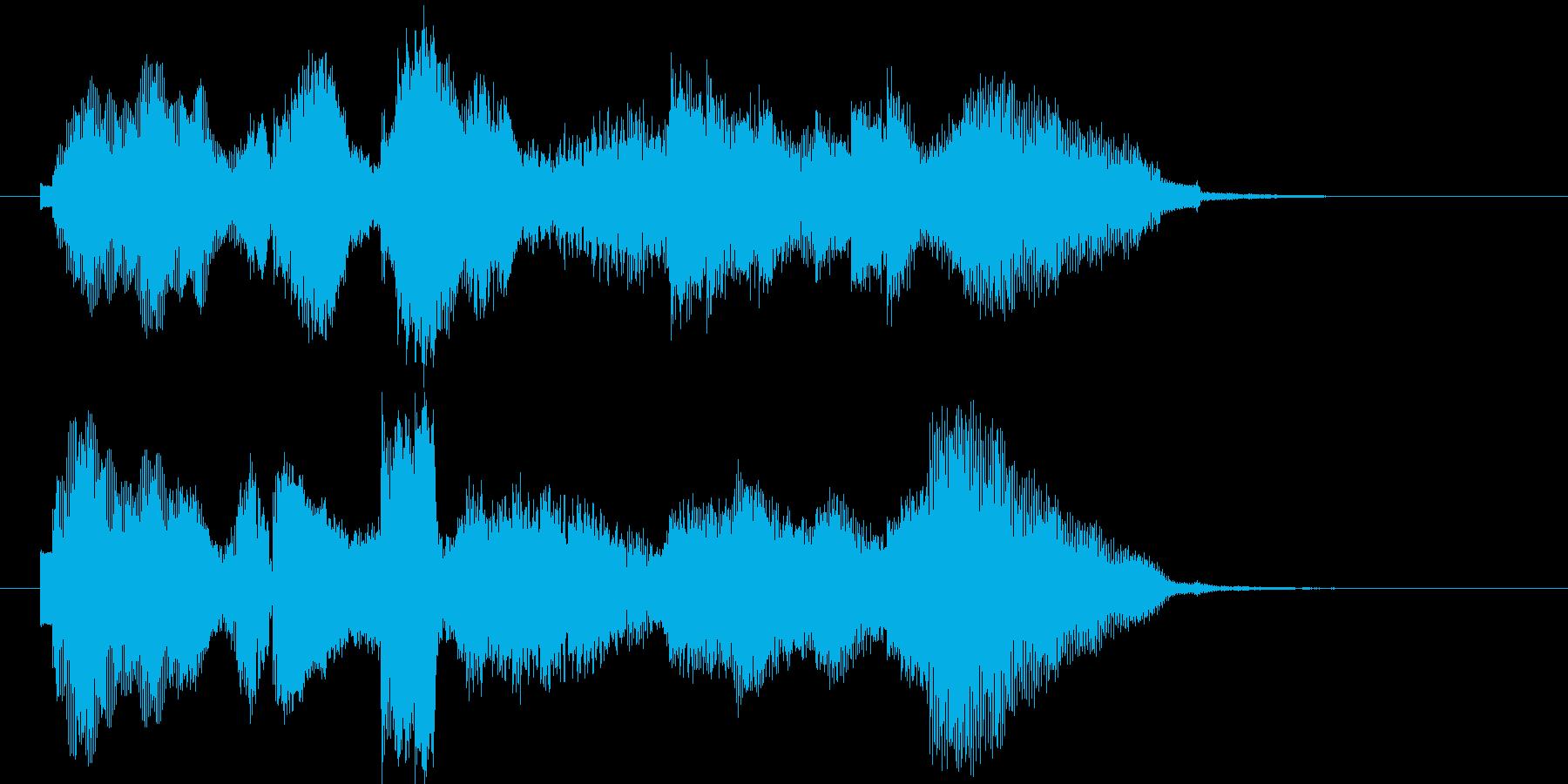 【ジングル】ほのぼの系ジングルの再生済みの波形