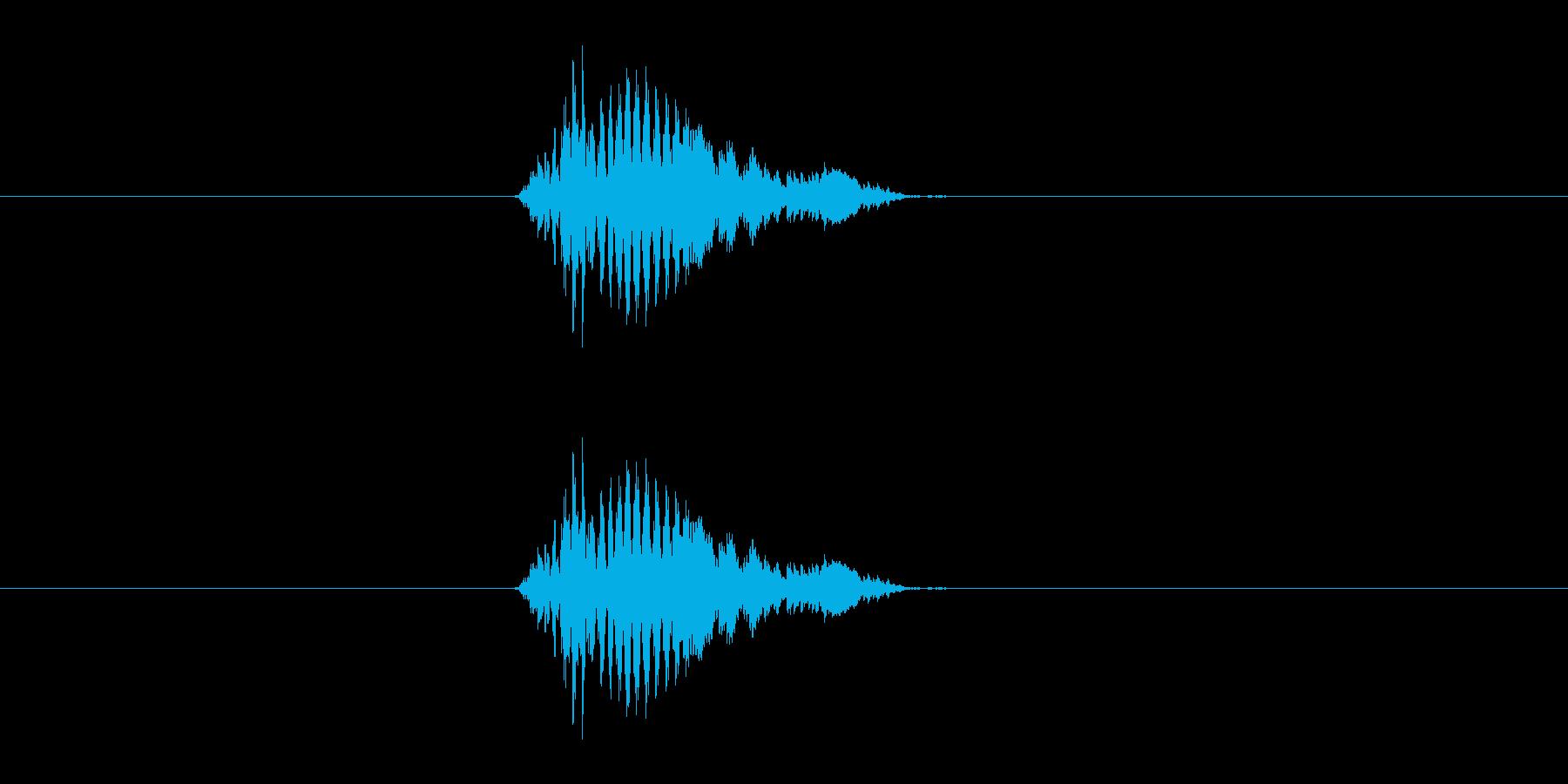 oh!の再生済みの波形