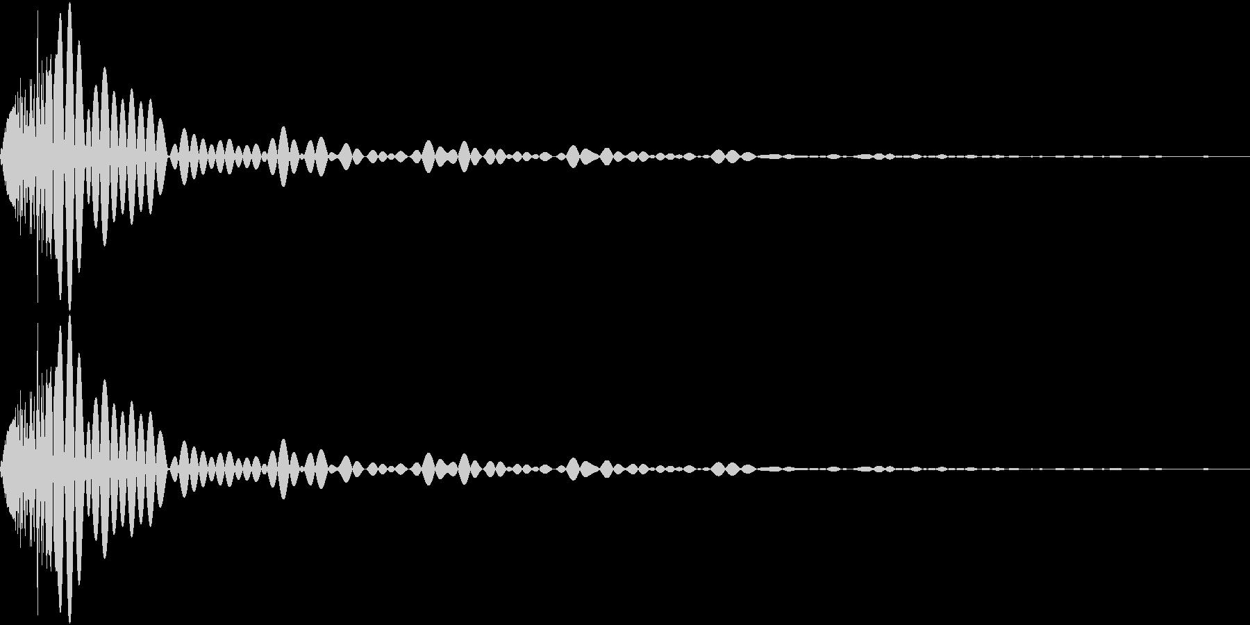 DTM Tom 4 オリジナル音源の未再生の波形
