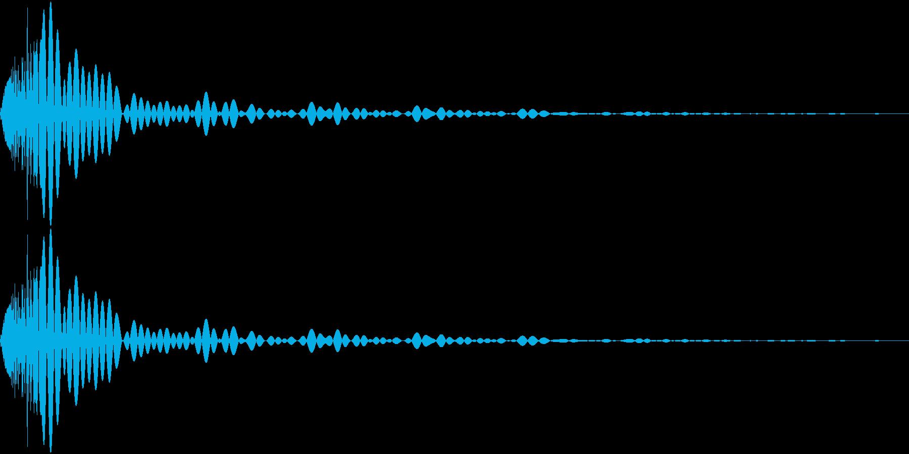 DTM Tom 4 オリジナル音源の再生済みの波形