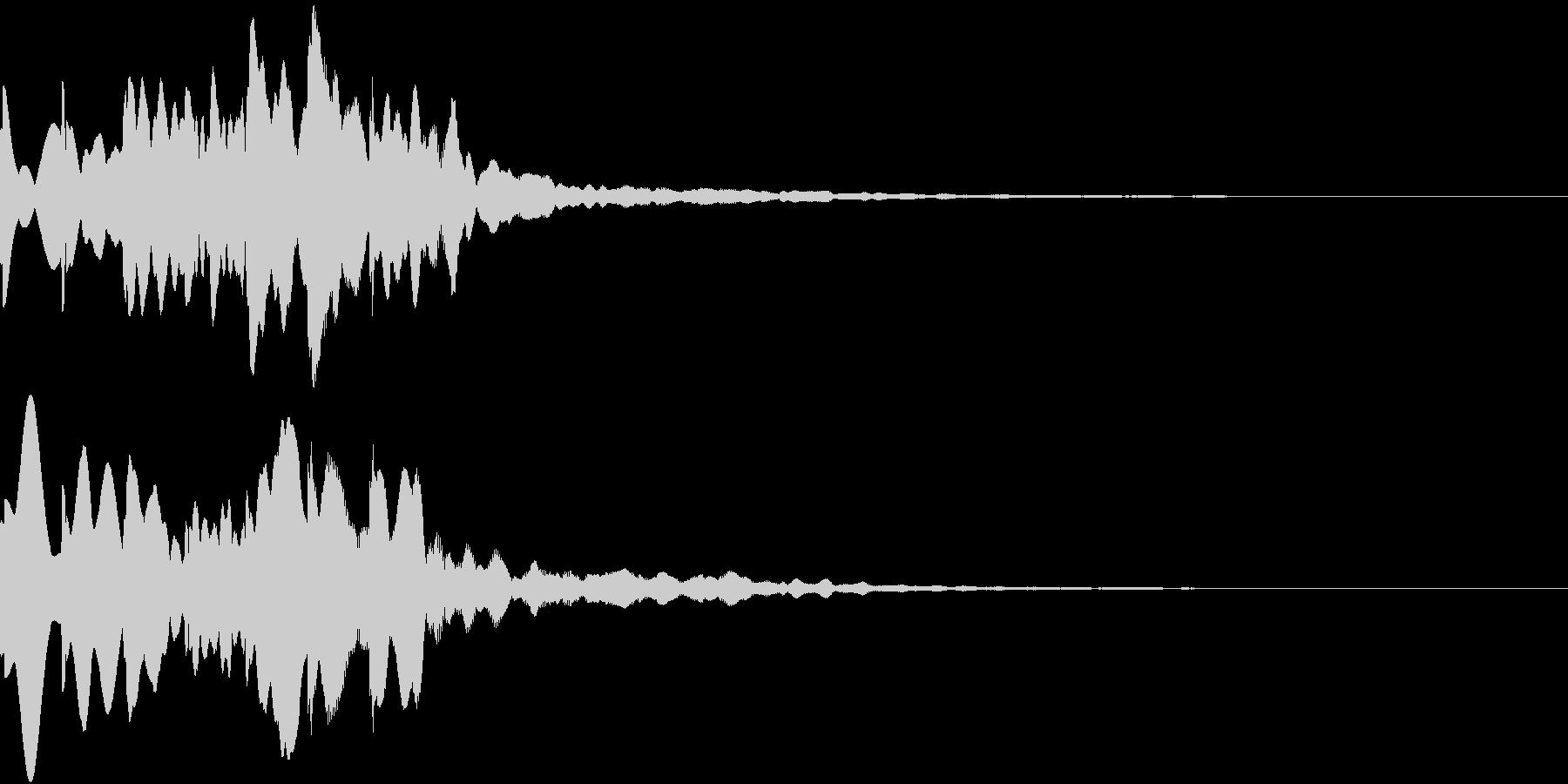 News ニュース番組のトピックSE 3の未再生の波形