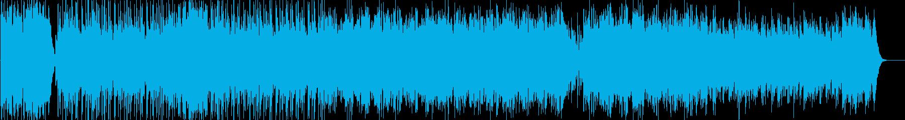 オープニングに使える爽やかエレクトロニカの再生済みの波形