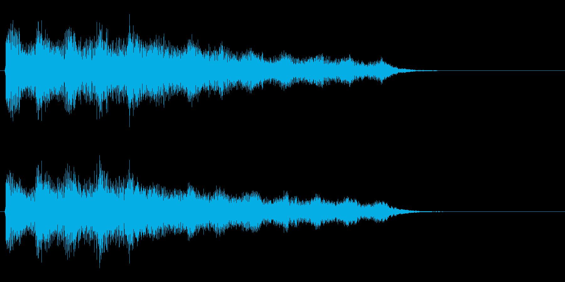 クイズ 不正解 残念の再生済みの波形