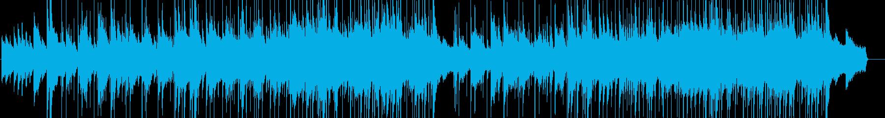 ブライダルにぴったりの穏やかで感動的な曲の再生済みの波形