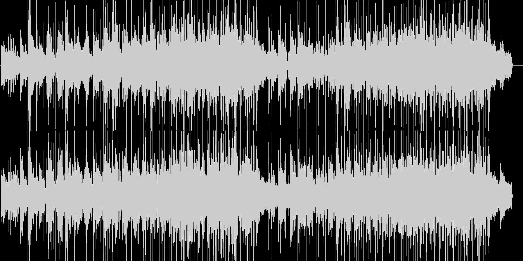 ブライダルにぴったりの穏やかで感動的な曲の未再生の波形