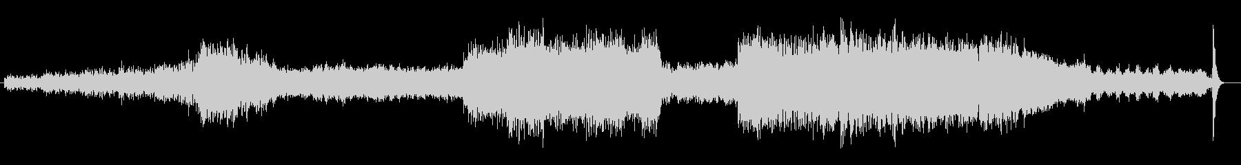 セントポール組曲 第四楽章フィナーレの未再生の波形