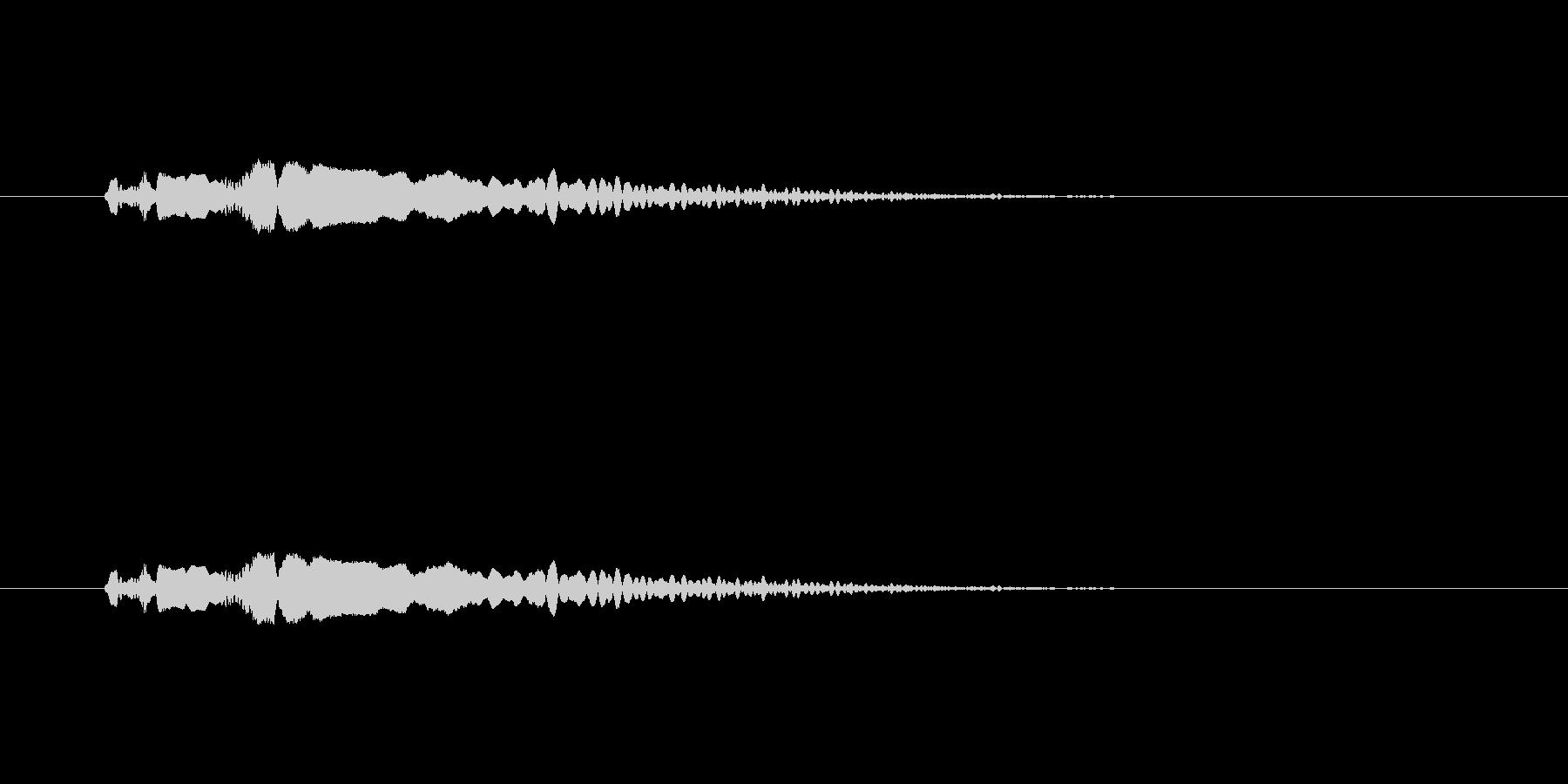 【ポップモーション30-1】の未再生の波形