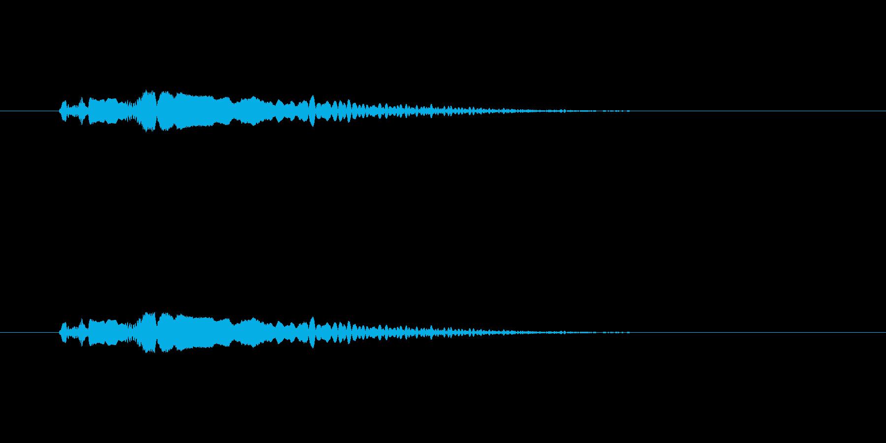 【ポップモーション30-1】の再生済みの波形