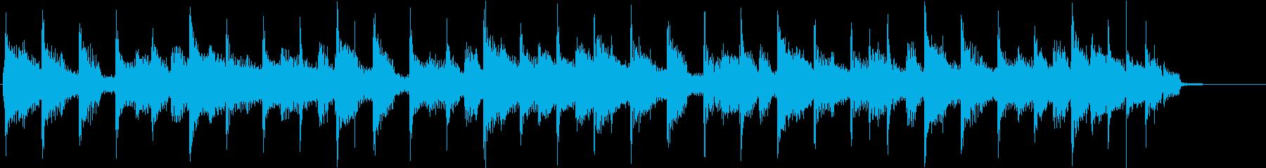 80年代のユーミン風コーナータイトルの再生済みの波形