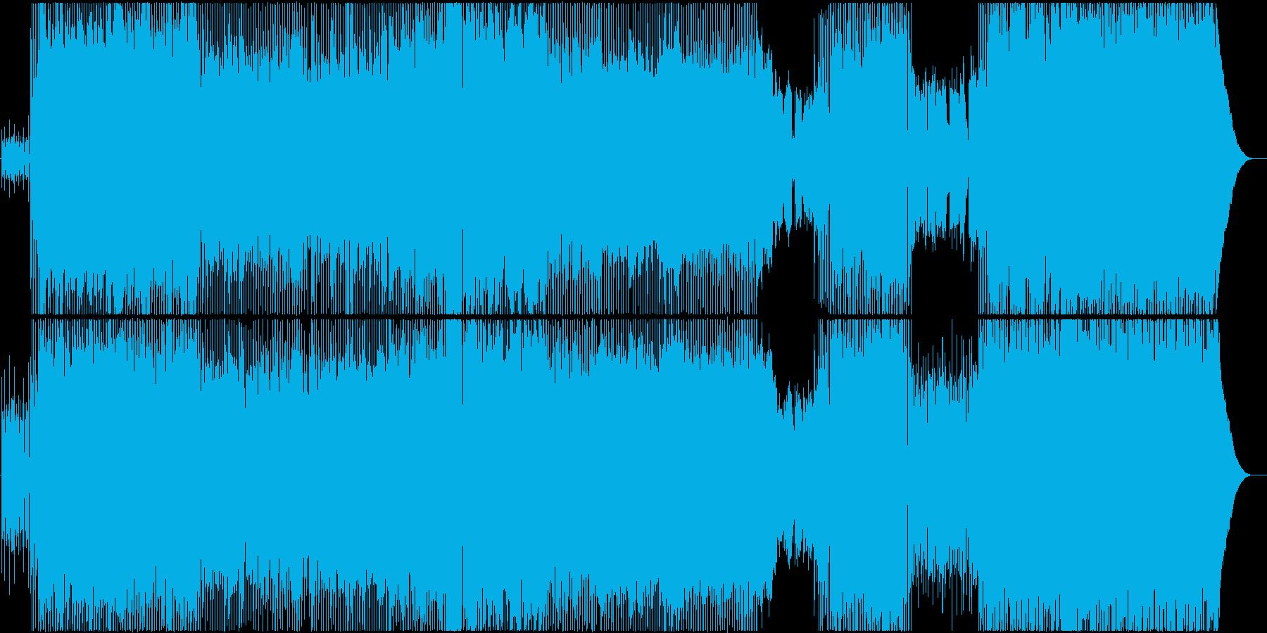 生演奏。優しい雰囲気のポップロックの再生済みの波形