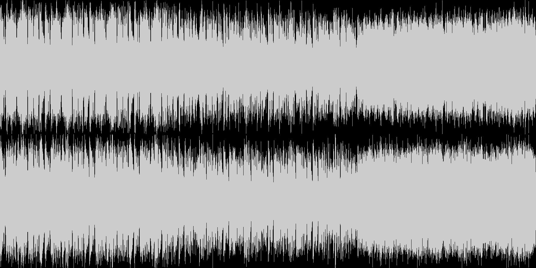 RPGの酒場で流れそうな曲(ループ可)の未再生の波形