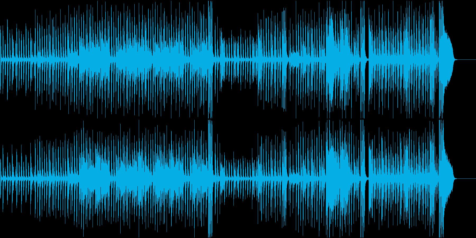 コミカル/アニメ/かわいい/リズム/の再生済みの波形