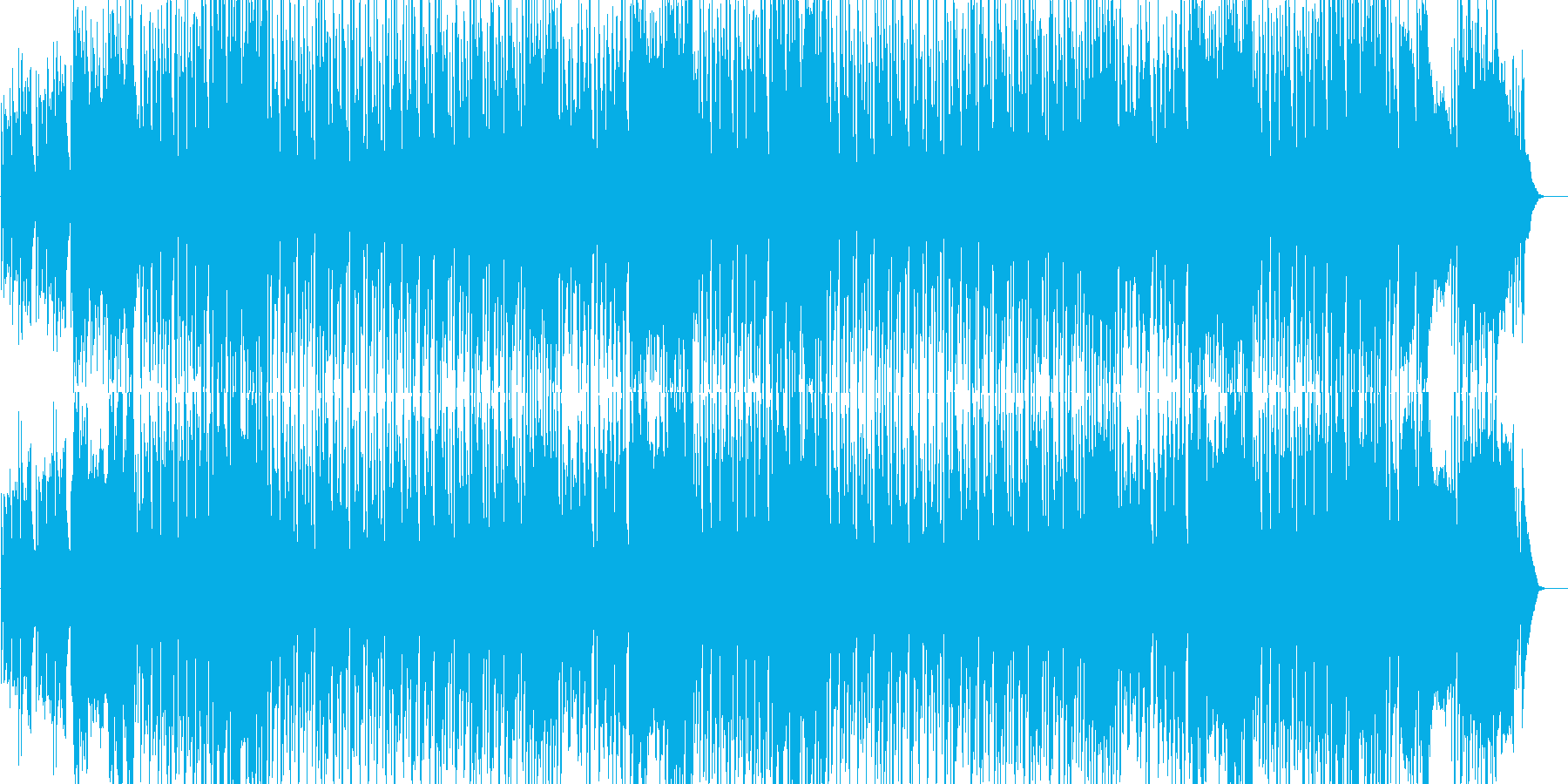 フレンチ/ワルツ/楽しい/軽快/賑やかの再生済みの波形