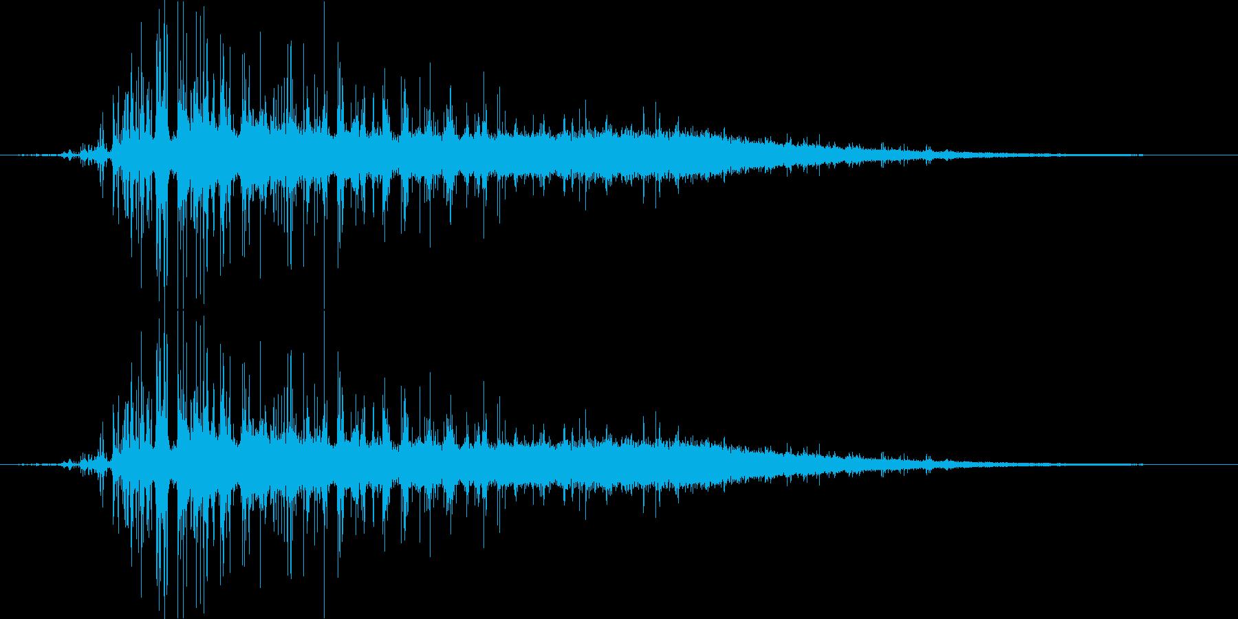 水を注ぐイメージ(炭酸入り)の再生済みの波形