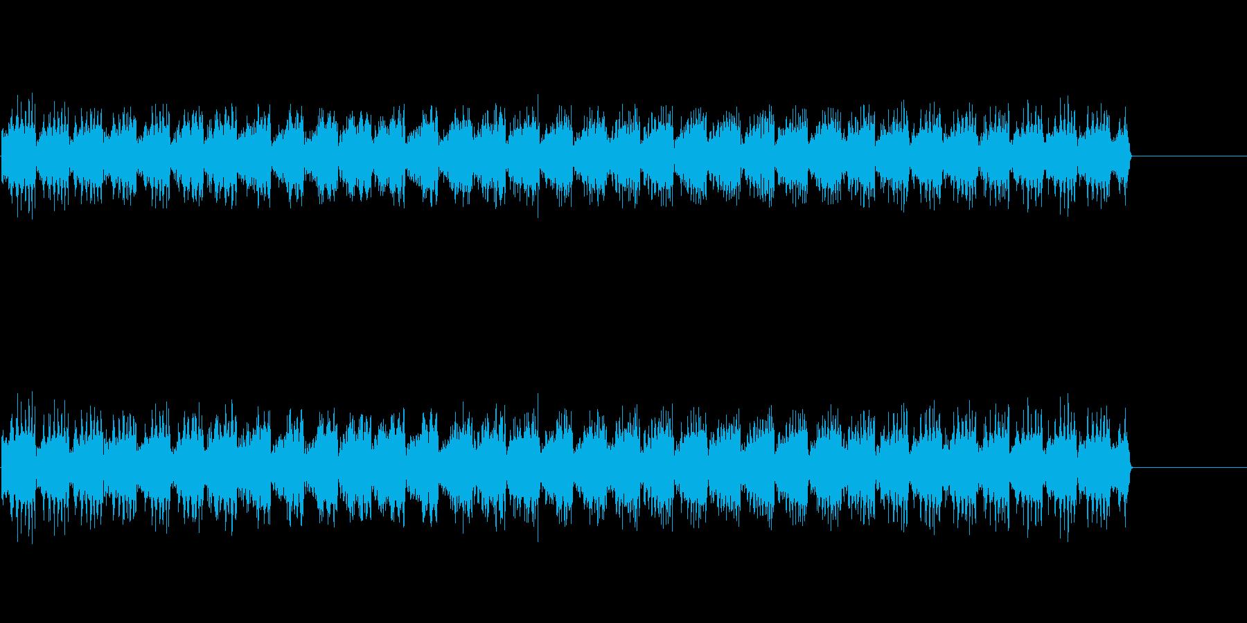 ウー、ウー、ウー(緊急時のサイレン音)の再生済みの波形