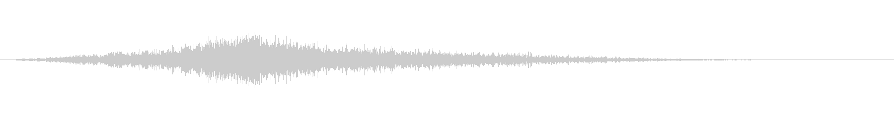 映画でよくあるライズヒットサウンドロゴ2の未再生の波形