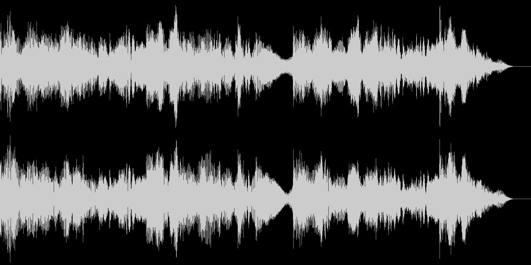 ファンタジーなBGMの未再生の波形