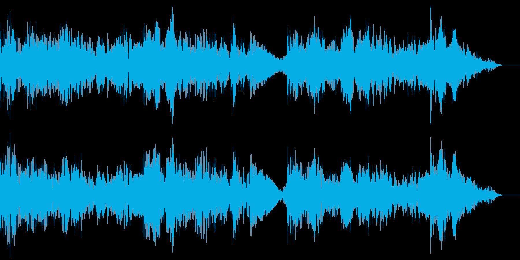 ファンタジーなBGMの再生済みの波形