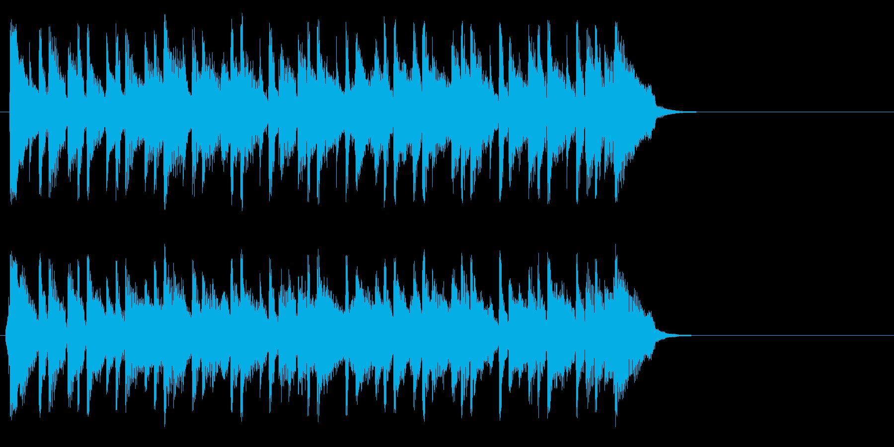ちょっぴり切ないポップ(サビ)の再生済みの波形